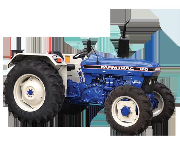Farmtrac 60 - 2WD / 4WD